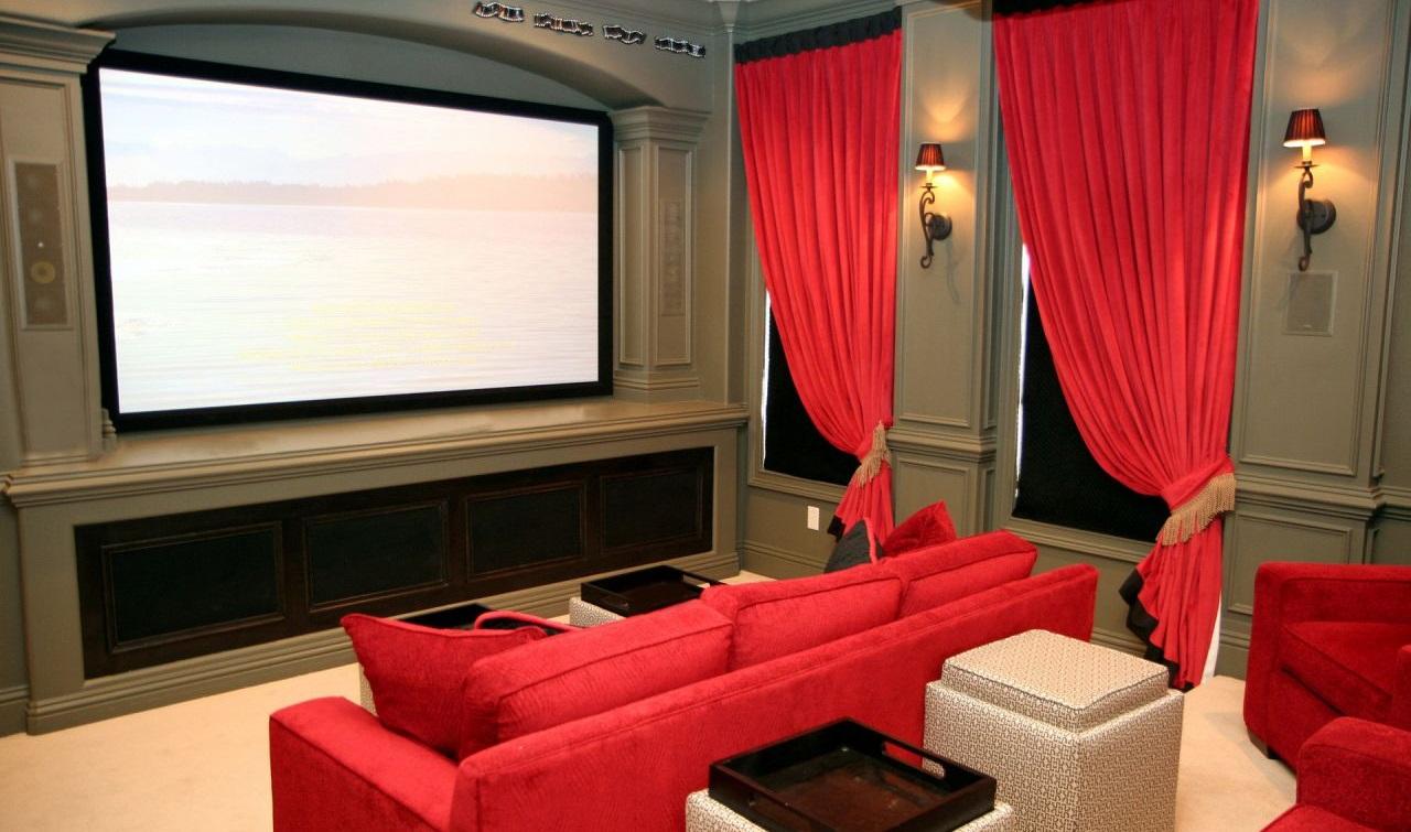 Cinema em casa é uma boa opção