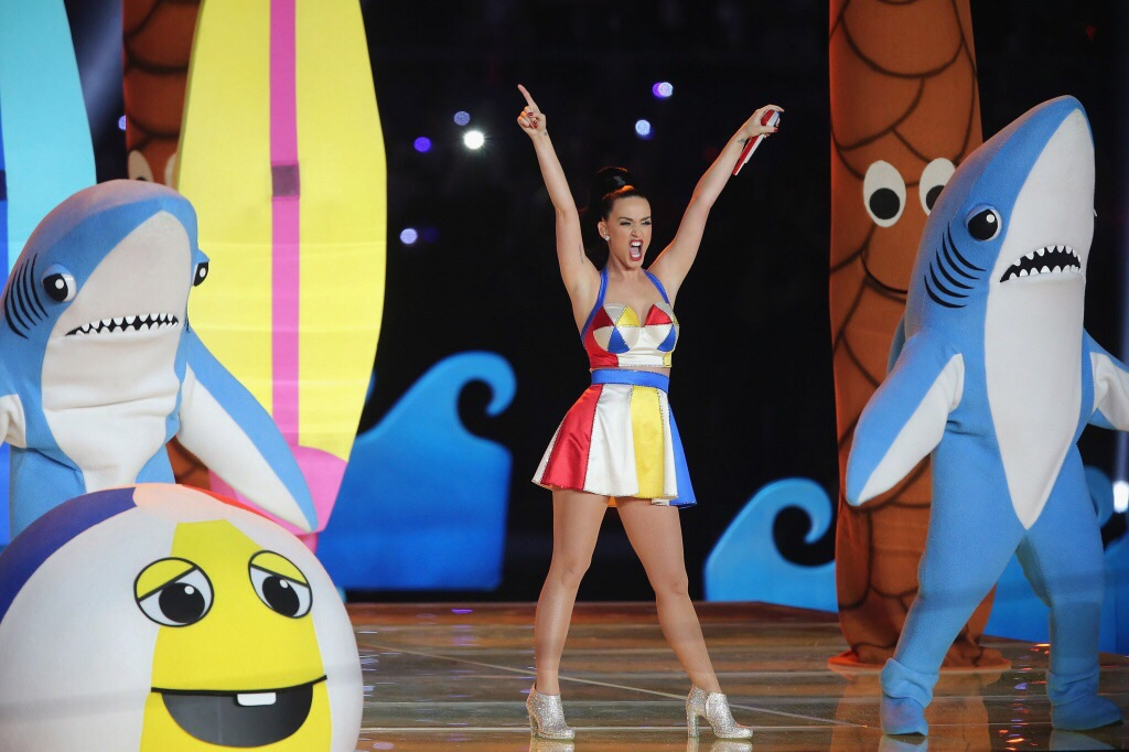 Katy Perry no Super Bowl