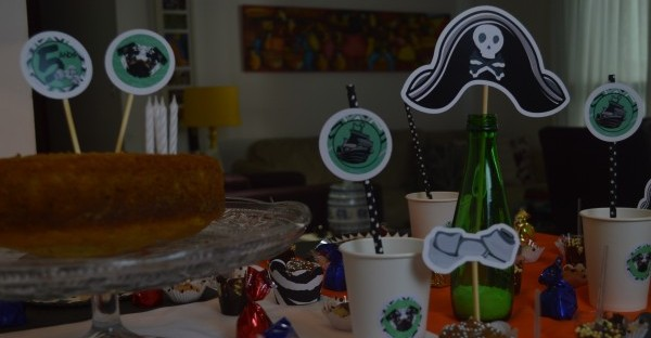 Festa de 5 anos do Jack com a Divertina