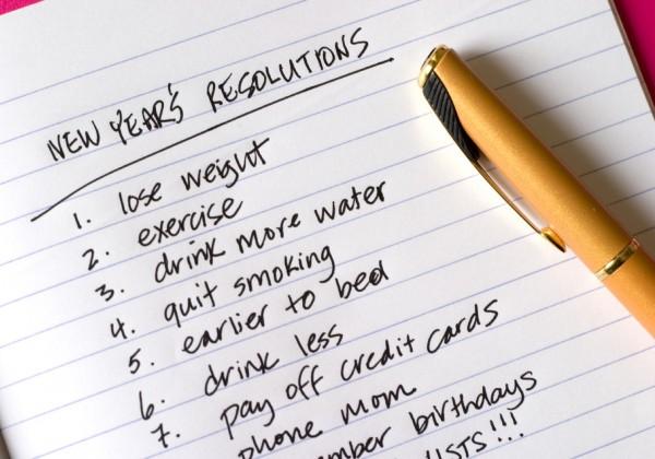 Resoluções para o Ano Novo