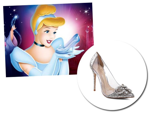 Sapatos famosos usados pelas vilãs e princesas da Disney