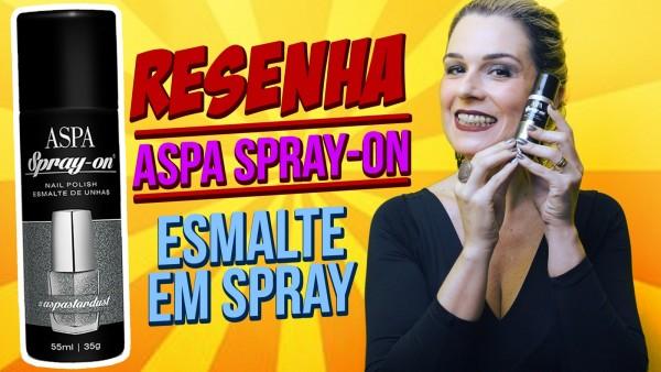 Esmalte em spray? Pode isso, produção?