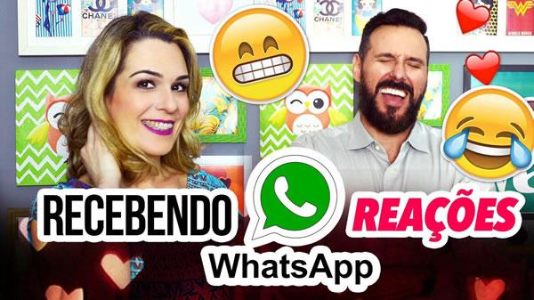 Whatsapp e as reações ao receber ou enviar