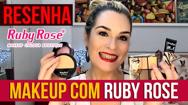 Ruby Rose Esta maquiagem funciona?