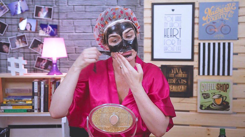 Retire a Shills Black Mask Peel Off devagarzinho!